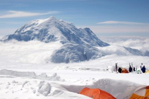 Denali Camp 4 (Basin Camp) 14000 ft Mt Foraker