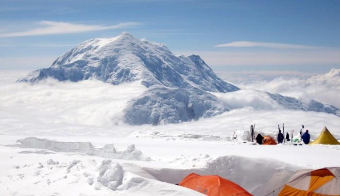 Denali Camp 4 14000 ft Mt Foraker