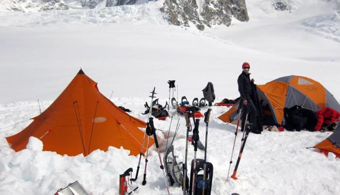 Denali Camp 1 Kahiltna Glacier