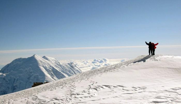 Denali High Camp 17000 ft 5000 m