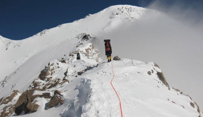 Denali from Basin Camp to High Camp