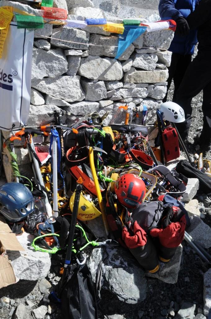 Everest equipment